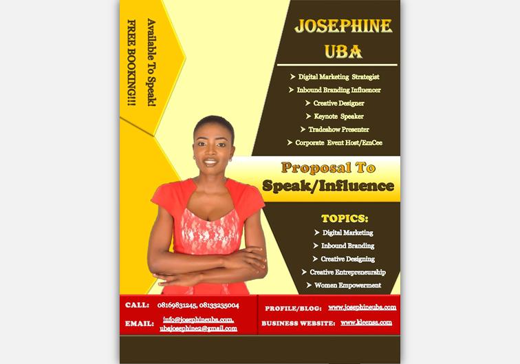 Josephine Uba's Proposal